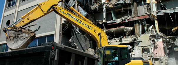 Demolition services nationwide by c l prosser co ltd